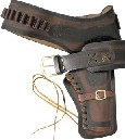 DX01L Denix Leather Western Holster