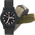 SW-W1464BLK SWW1464BLK S&W Military Watch Black Face