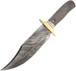 BL028 Knife Blade Damascus Bowie