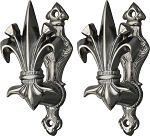 CN203308 China Fleur de lis Gun and Sword Holder