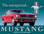 TSN0579 Tin Sign Ford Mustang.